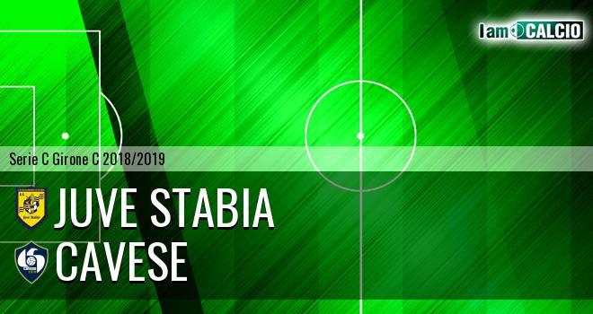 Juve Stabia - Cavese 2-2. Cronaca Diretta 10/03/2019
