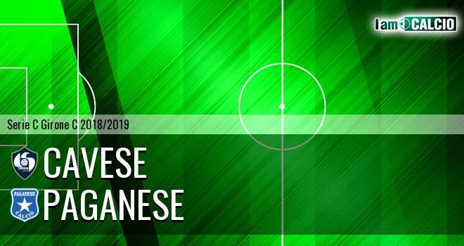 Cavese - Paganese 4-0. Cronaca Diretta 17/03/2019
