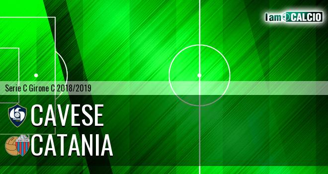 Cavese - Catania 2-2. Cronaca Diretta 28/04/2019