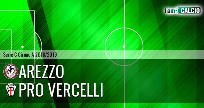 Arezzo - Pro Vercelli