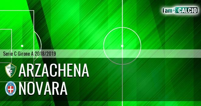 Arzachena - Novara 0-2. Cronaca Diretta 21/11/2018