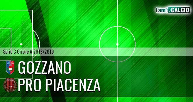 Gozzano - Pro Piacenza 0-3. Cronaca Diretta 08/10/2018