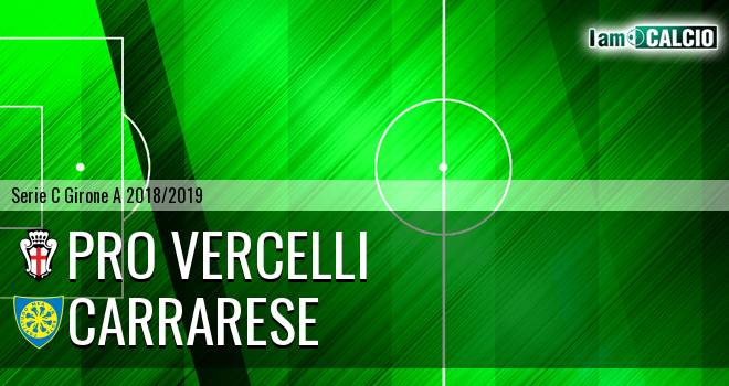 Pro Vercelli - Carrarese