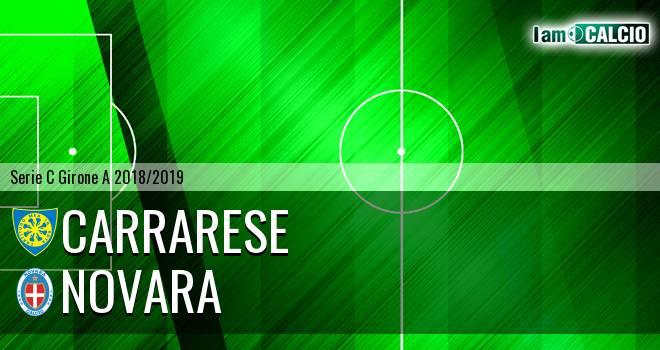 Carrarese - Novara 4-2. Cronaca Diretta 14/10/2018