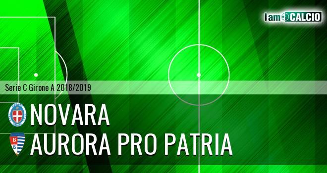 Novara - Aurora Pro Patria 0-1. Cronaca Diretta 17/10/2018