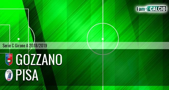Gozzano - Pisa 0-2. Cronaca Diretta 22/10/2018