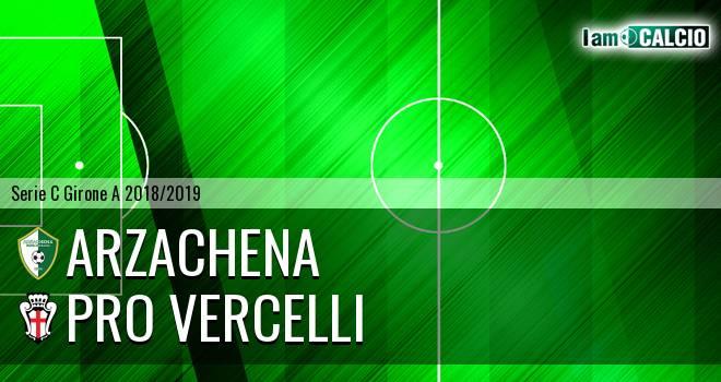 Arzachena - Pro Vercelli