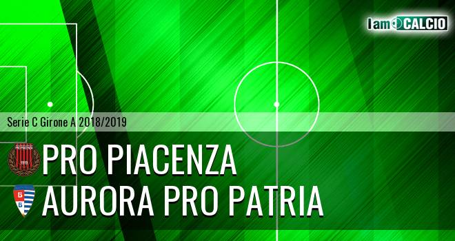 Pro Piacenza - Aurora Pro Patria