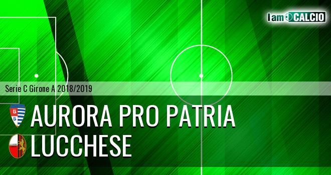 Aurora Pro Patria - Lucchese
