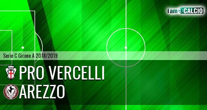 Pro Vercelli - Arezzo