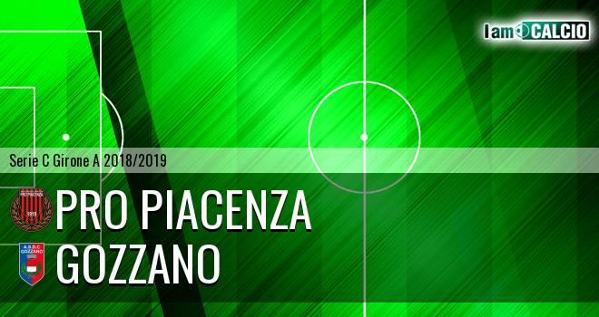 Pro Piacenza - Gozzano