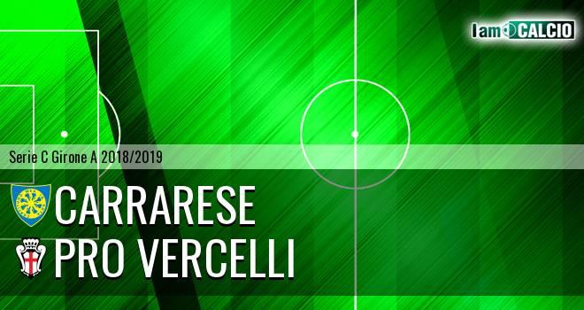 Carrarese - Pro Vercelli