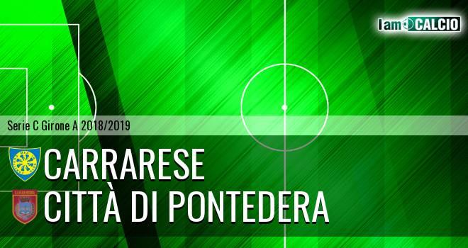 Carrarese - Città di Pontedera