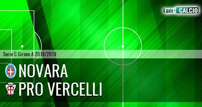 Novara - Pro Vercelli 2-1. Cronaca Diretta 02/03/2019