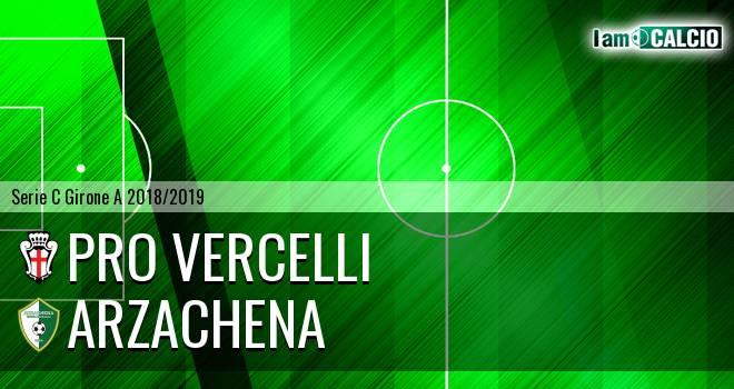 Pro Vercelli - Arzachena