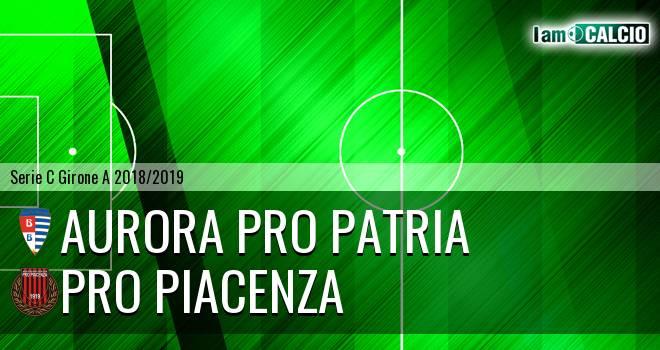 Aurora Pro Patria - Pro Piacenza