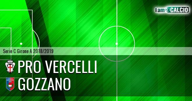 Pro Vercelli - Gozzano