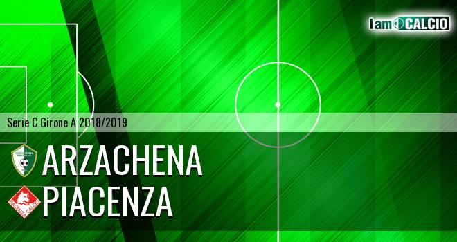 Arzachena - Piacenza