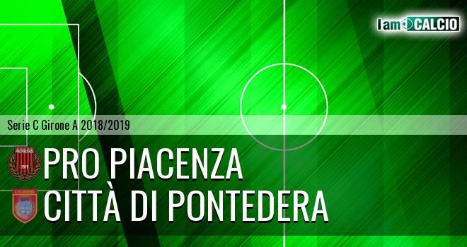 Pro Piacenza - Città di Pontedera