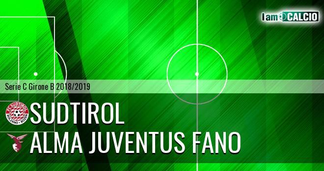 Sudtirol - Alma Juventus Fano