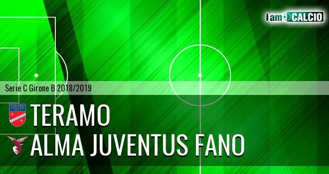Teramo - Alma Juventus Fano