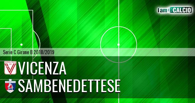 Vicenza - Sambenedettese