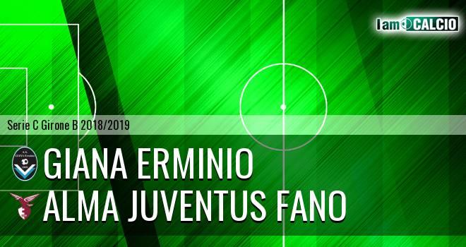 Giana Erminio - Alma Juventus Fano
