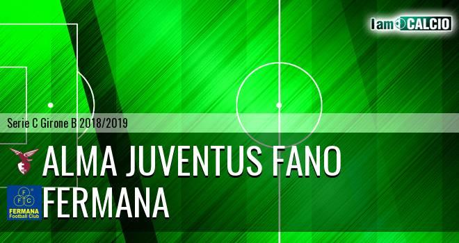 Alma Juventus Fano - Fermana