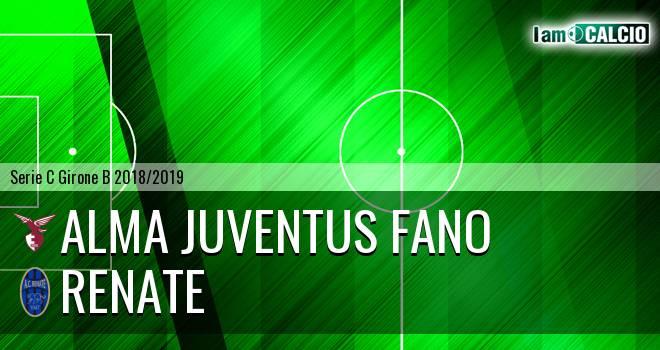 Alma Juventus Fano - Renate