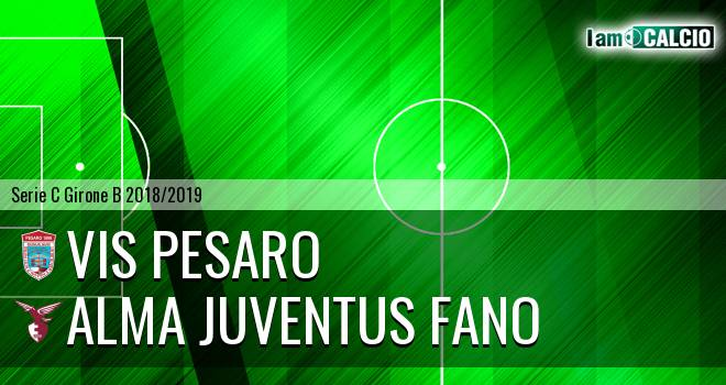 Vis Pesaro - Alma Juventus Fano