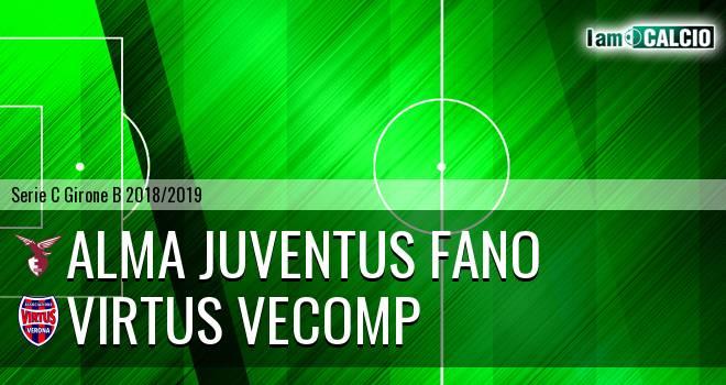 Alma Juventus Fano - Virtus Verona