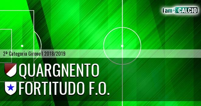 Quargnento - Fortitudo F.O.