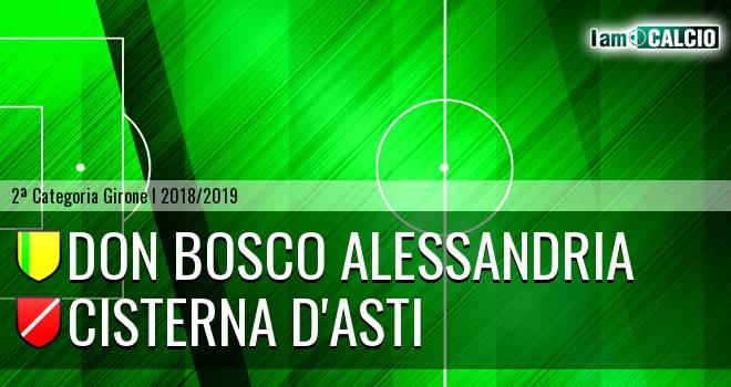 Don Bosco Alessandria - Cisterna d'Asti