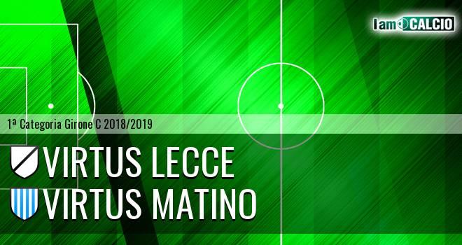 Virtus Lecce - Virtus Matino