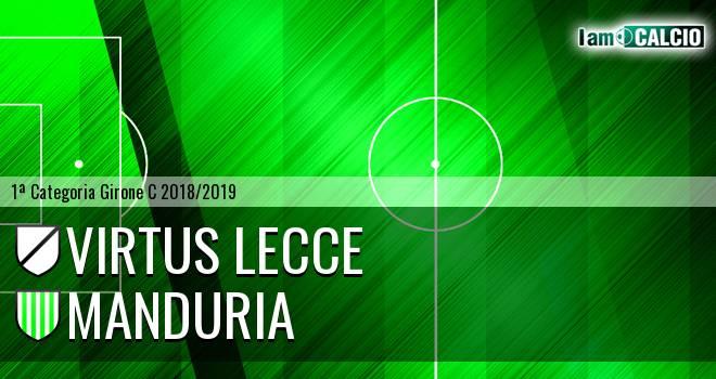 Virtus Lecce - Manduria