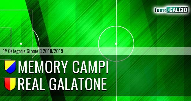 Memory Campi - Real Galatone