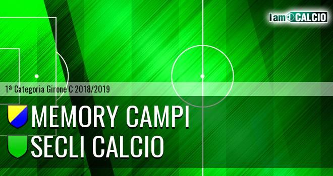 Memory Campi - Secli Calcio