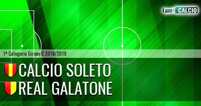Calcio Soleto - Real Galatone