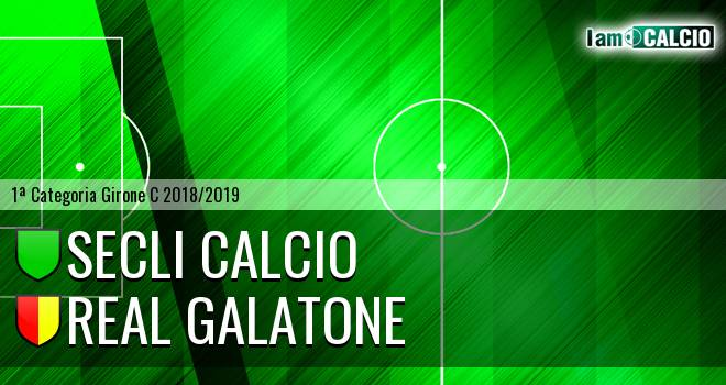 Secli Calcio - Real Galatone