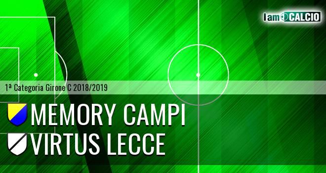 Memory Campi - Virtus Lecce