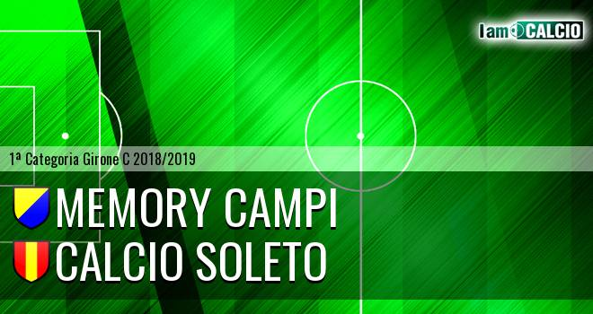 Memory Campi - Calcio Soleto
