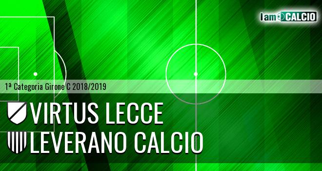 Virtus Lecce - Leverano Calcio