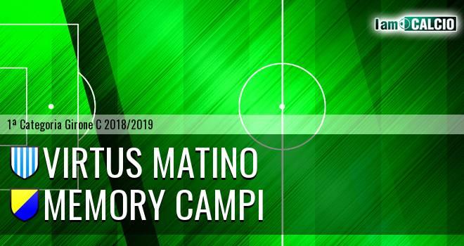 Virtus Matino - Memory Campi