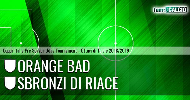 Orange Bad - Sbronzi di Riace