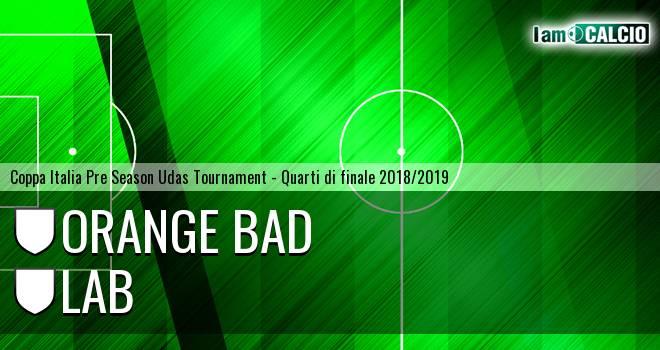 Orange Bad - LAB Rigatoni