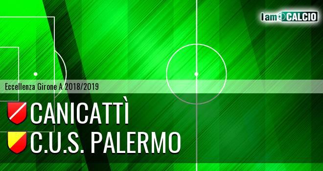 Canicattì - C.U.S. Palermo