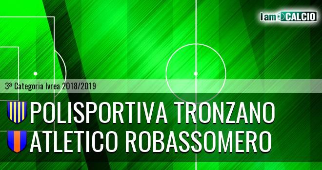 Polisportiva Tronzano - Atletico Robassomero