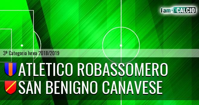 Atletico Robassomero - San Benigno Canavese