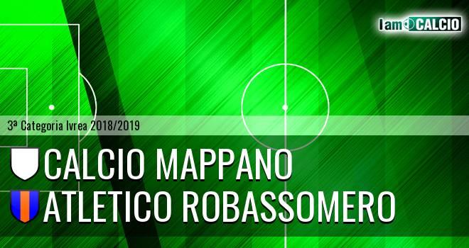 Calcio Mappano - Atletico Robassomero