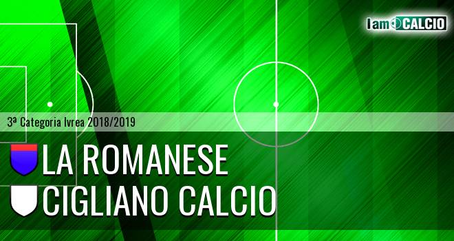 La Romanese - Cigliano Calcio